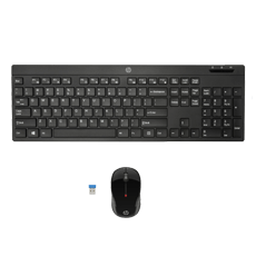 HP Wireless Keyboard Mouse 200 Black
